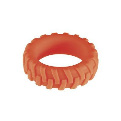 my ring silicone red s dans Cockring et bague pénis