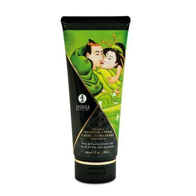 creme de massage 200ml poire/the dans Massage comestibles