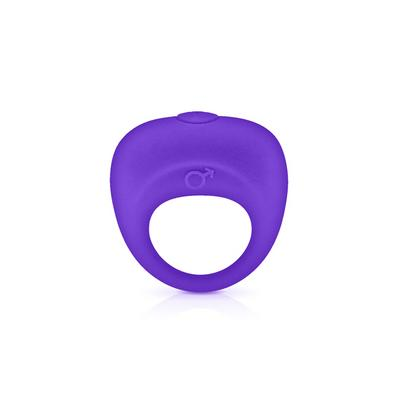 vibrating cockring purple glamy dans Cockring et bague pénis